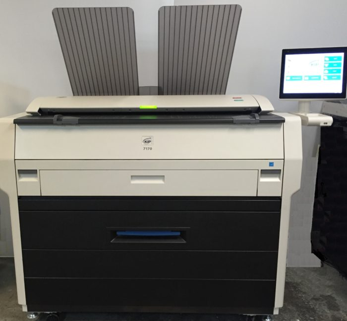 Used KIP 7170used copier, used konica, used color copier
