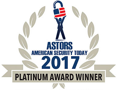 2018 Astors Platinum Award logo